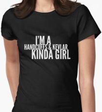 I'm a handcuffs and kevlar kinda girl T-Shirt