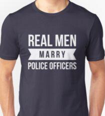 Real Men marry Police Officer T-Shirt