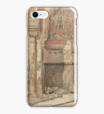 Basking - a Corner in the Alhambra 1883 Tom Roberts iPhone Case/Skin