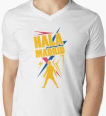 Hala Madrid T-Shirt mit V-Ausschnitt für Männer