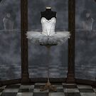 White Classical Ballet Tutu Reflections by algoldesigns