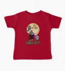 Halloween Humor - Guess What? Zombie Butt! Kids Clothes