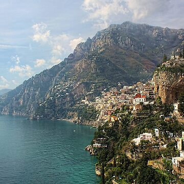 Village of Positano - Amalfi Coast by rural-guy