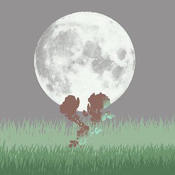 Moon Gazing by Novalliez