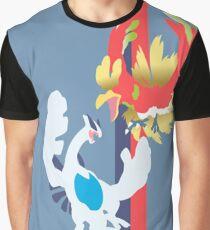 Lugia y Ho-oH Pokémon / Lugia and Ho-oH Pokémon Graphic T-Shirt