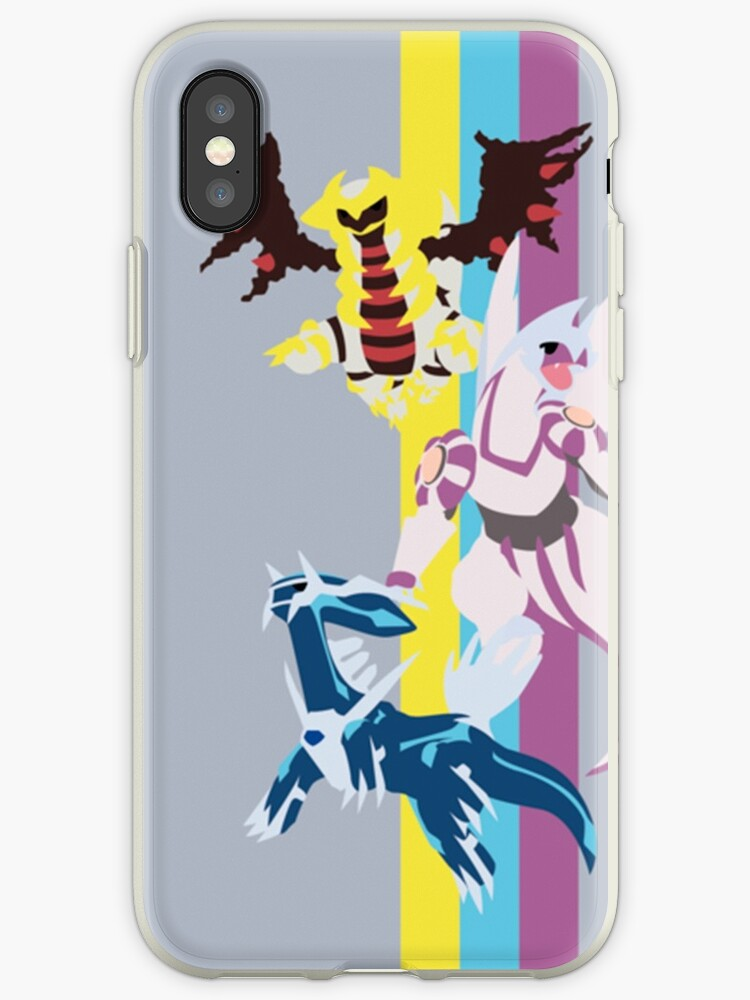 competitive price e131d 4f11b 'Palkia, Dialga y Giratina Pokémon / Palkia, Dialga and Giratina Pokémon'  iPhone Case by SrWhitePS