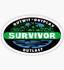 Survivor Logo Sticker
