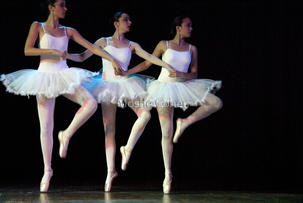 Ballet show #20 by Moshe Cohen