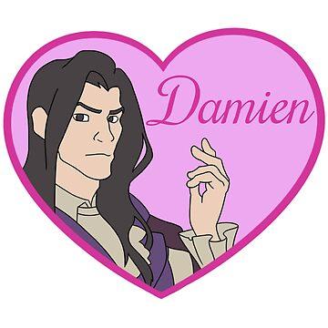 Damien Bloodmarch Love Heart by ultimatesongbir