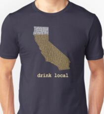 Drink Local - California Beer T-shirt Unisex T-Shirt
