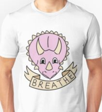 breathe [pink] (custom colours available) T-Shirt