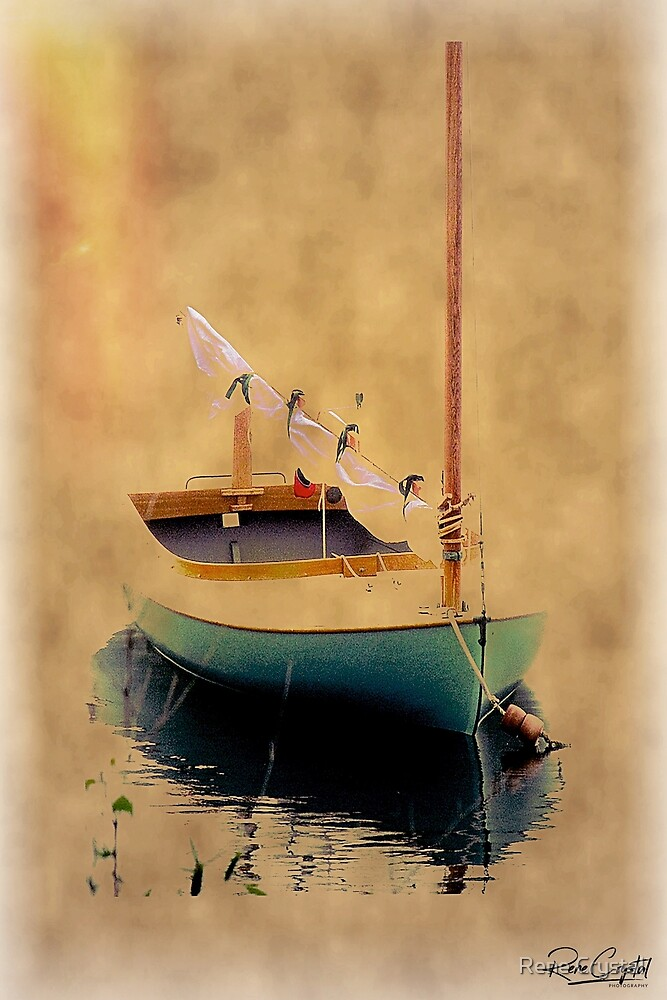 Sailboat Still Life by Rene Crystal