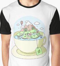 Tea Island Graphic T-Shirt