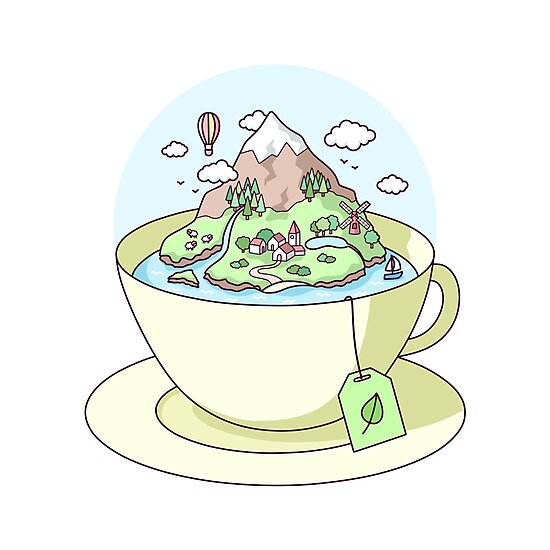 Tea Island by sombrasblancas