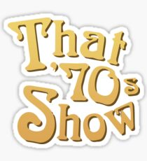 Title - That '70s Show Sticker