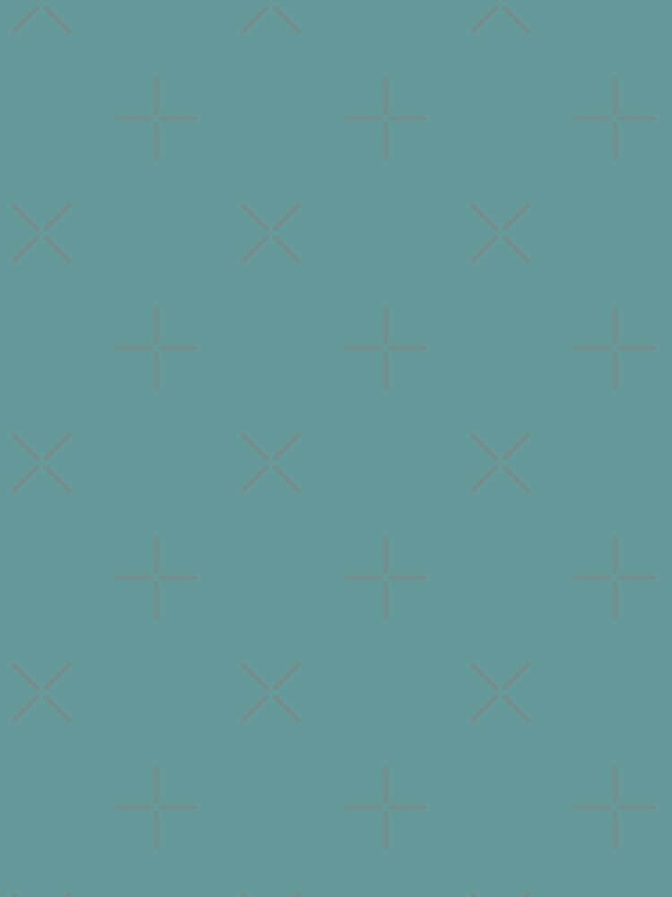 Solid Colour | Desaturated Cyan | Blue |Aqua by ozcushions