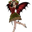 Christmas Fairy Elf Girl by algoldesigns