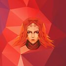 Lina Low Poly Art by giftmones