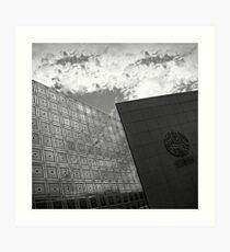 Institut du Monde Arabe Art Print