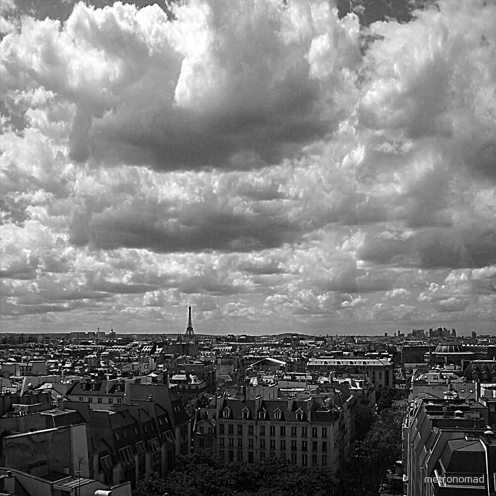 Paris Skyline by metronomad