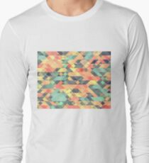Rainbow Mirror Pattern T-Shirt