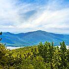 Adirondacks Scenic Mountain Landscape by Christina Rollo