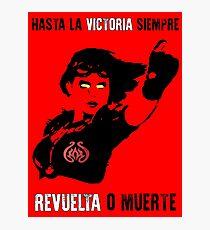 """Revolutionary Chandra - """"Hasta la Victoria Siempre"""" Photographic Print"""