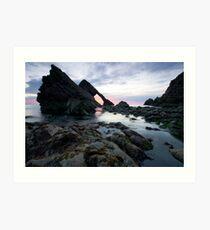 Bow Fiddle Rock, Scotland Art Print