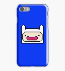 FINN ADVENTURE TIME! 8-BIT PIXEL ART, Cartoon Network iPhone Case/Skin