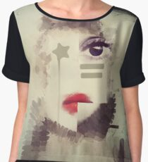 What cannot be said will be wept Women's Chiffon Top