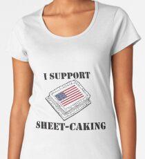 Sheetcaking Women's Premium T-Shirt