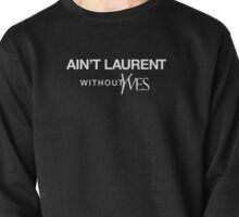 Ain't Laurent without Yves - white Pullover