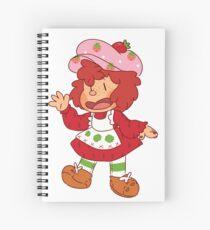 Strawberry Shortcake Spiral Notebook