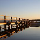 A peaceful basin sunset by Keiran Lusk