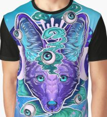 Jackal Eyes Graphic T-Shirt