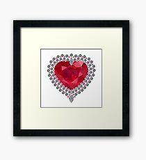 Heart of Love Framed Print