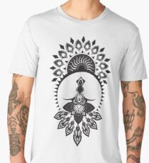 Owl Mandala Dreamcatcher Men's Premium T-Shirt