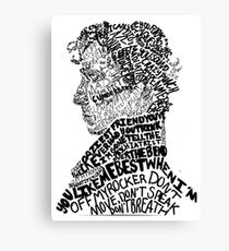 Sherlock Holmes - Crime Solving English Private Detective Canvas Print