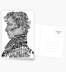 Sherlock Holmes - Crime Solving English Private Detective Postcards