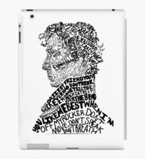 Sherlock Holmes - Crime Solving English Private Detective iPad Case/Skin