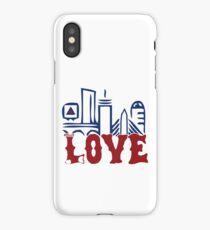 Love Boston Red Sox - Boston Skyline iPhone Case