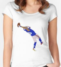 Odell Beckham Jr. Catch Women's Fitted Scoop T-Shirt