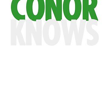Conor McGregor Knows by MartialMania