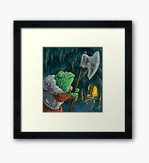 Chameleon Adventurer  Framed Print