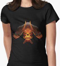 Bone Clinkz  Low Poly Art Women's Fitted T-Shirt
