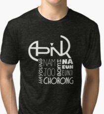 APINK Member Names Tri-blend T-Shirt