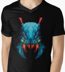 Weaver Low Poly Art Men's V-Neck T-Shirt