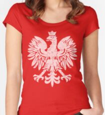 Polish White Eagle Women's Fitted Scoop T-Shirt