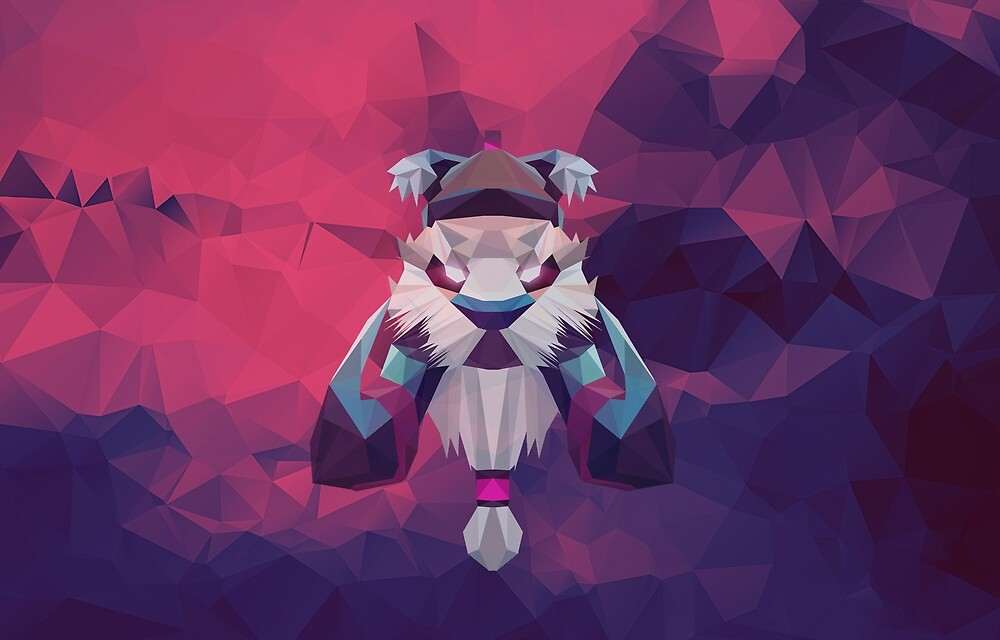 Tusk Low Poly Art by giftmones