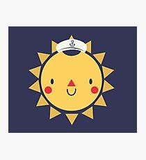 Sunshine Sailor Photographic Print